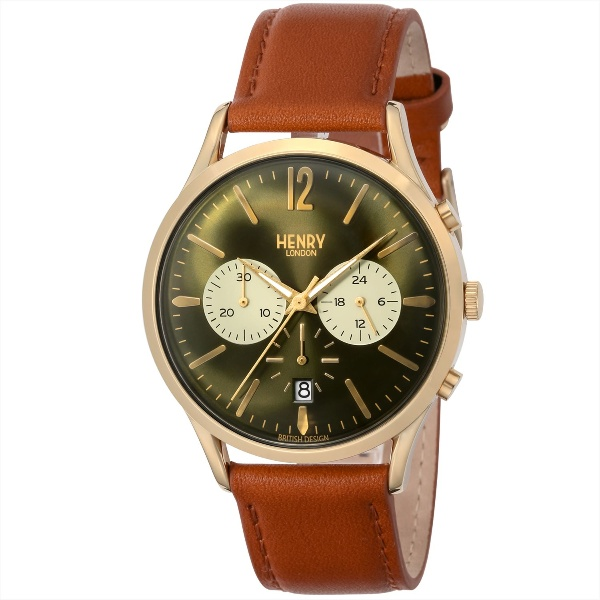 メンズ時計(【型番:HL41-CS-0190】電池式(クオーツ式)/ヘンリーロンドン(HENRY LONDON)