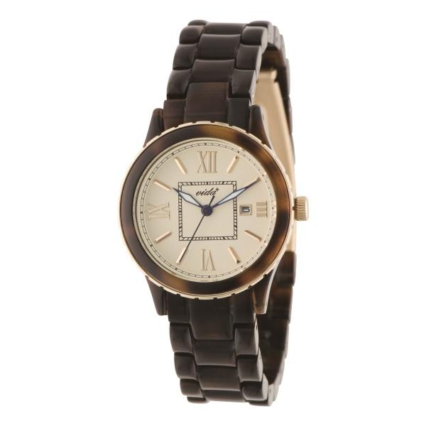 レディース時計(マムウォッチ(クオーツ【型番:85010 BR Mum type2】))/ヴィーダプラス(VIDA+)