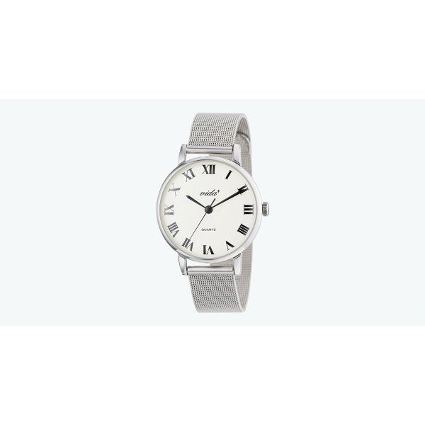 レディース時計(ヴォヤージュウォッチ(クオーツ【型番:84963 SV-SV】))/ヴィーダプラス(VIDA+)