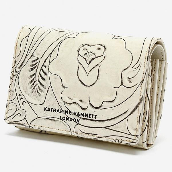 財布(2つ折り財布  クラフト2)/キャサリン ハムネット ロンドン(KATHARINE HAMNETT LONDON)