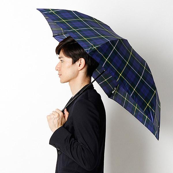 カサ マッキントッシュフィロソフィ 軽量約115g チェック柄 ユニセックス折りたたみ傘 贈答品 バーブレラ Barbrella マッキントッシュ ディスカウント フィロソフィー R PHILOSOPHY MACKINTOSH