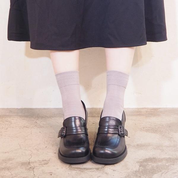 ヒールローファー/あしながおじさん(ashinaga-ojisan)