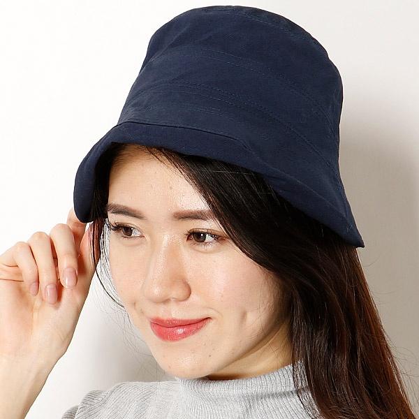 【S/M/Lサイズ展開・UV対策・手洗いOK・サイズ調整機能】 グラヴェール (レディース帽子) ななめはぎクロッシェ /