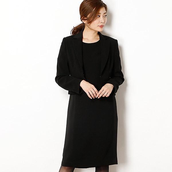 サテン切り替えテーラードアンサンブル/ドレスデコ ノアール(dress deco noir)