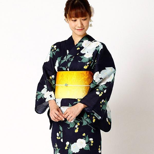 八重桜(単品浴衣)/ru×嵐山よしむら