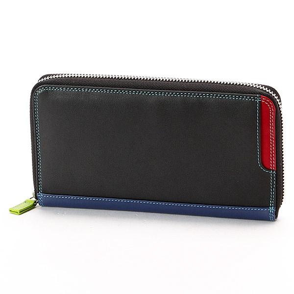 PLUS1 ジップラウンドパース(外付ICカードポケット付ジップラウンド長財布)/マイウォリット(mywalit)