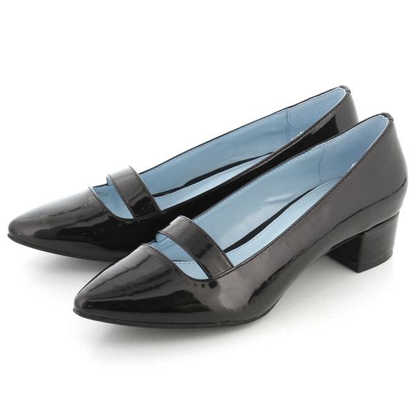 パンプス(ポインテッドトゥ/晴雨兼用/滑りにくい靴底/3cmヒール)/モードカオリ(MODE KAORI)