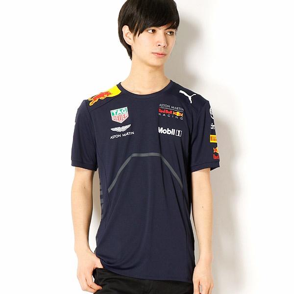 【プーマ(PUMA)】メンズカジュアルSSシャツインポートサイズ(RBR チームTシャツ)/プーマ(PUMA)