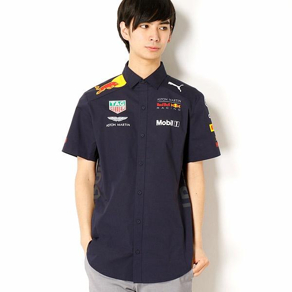 【プーマ(PUMA)】メンズカジュアルシャツインポートサイズ(RBR チームシャツ)/プーマ(PUMA)