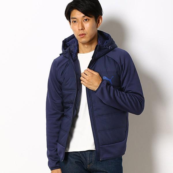 【プーマ/PUMA】メンズカジュアルパデッドジャケット(ハイブリッド 中綿JK)/プーマ(PUMA)