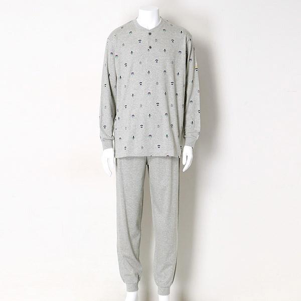 スムースペンギン&バルーンプリントヘンリー/マンシングウェア(Munsingwear)