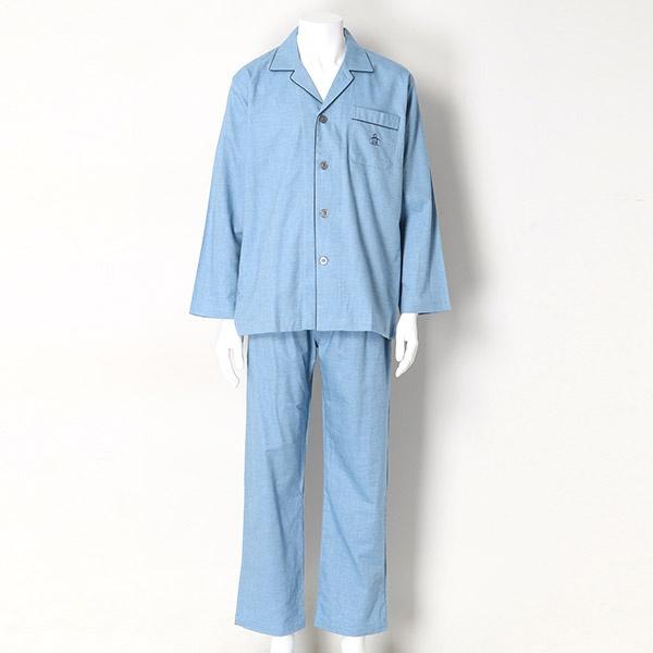 ネルヘリンボン無地テーラー(日本製)/マンシングウェア(Munsingwear)