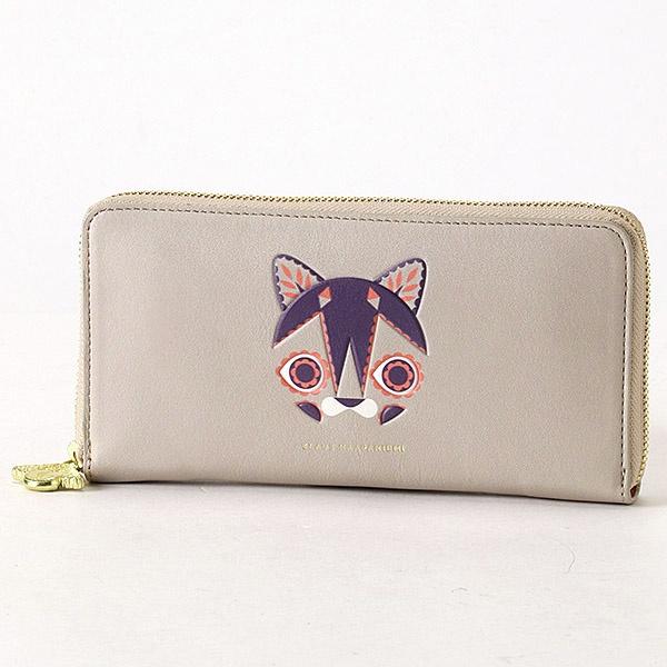 ラウンド財布クラウスハーパニエミ ラウンド財布 ネコの刺繍入り/クラウスハーパニエミ, キングダムタッチ:c4b853e1 --- officewill.xsrv.jp