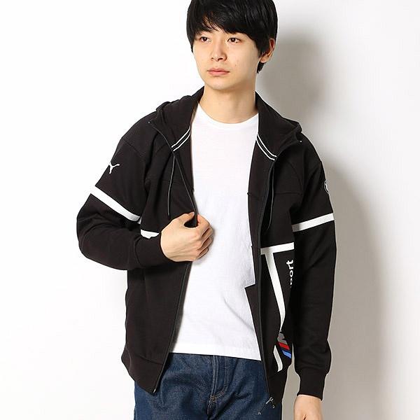 【プーマ】メンズスウェットジャケット(BMW MMS フーデッド スウェットジャケット)/プーマ(PUMA)