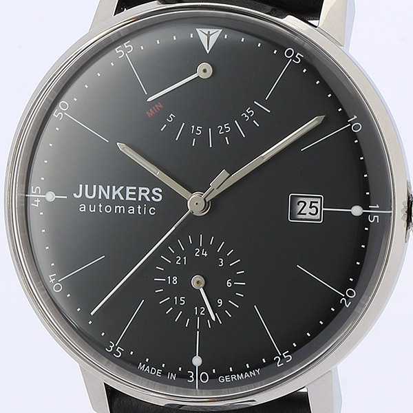 バウハウス メンズ(自動巻き【型番:6060-2AT)/ユンカース(時計)JUNKERS