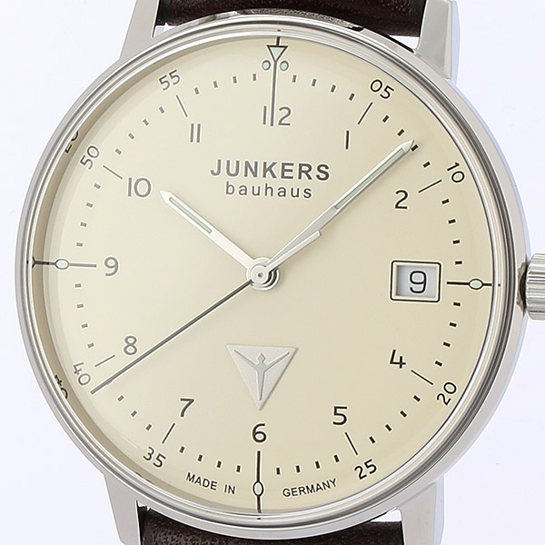 バウハウス レディース(クォーツ【型番:6047-5QZ)/ユンカース(時計)JUNKERS