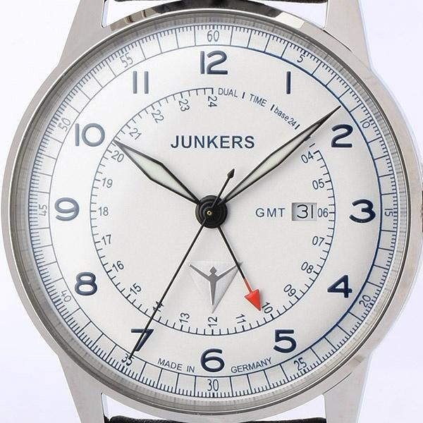 G38 GMT針 メンズ(クオーツ【型番:6946-3QZ)/ユンカース(時計)JUNKERS