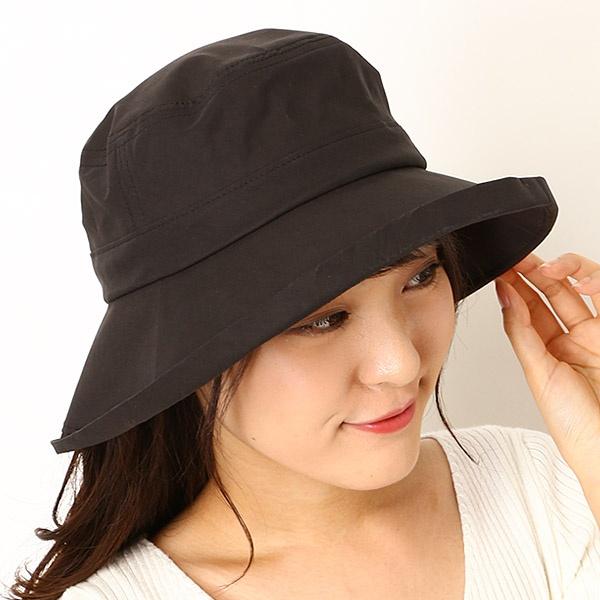 【手洗い・UV遮蔽率99.9%以上・サイズ調整OK】綿混タフタ エッジアップセーラーハット/フルラ(ネックウェア・帽子)(FURLA)