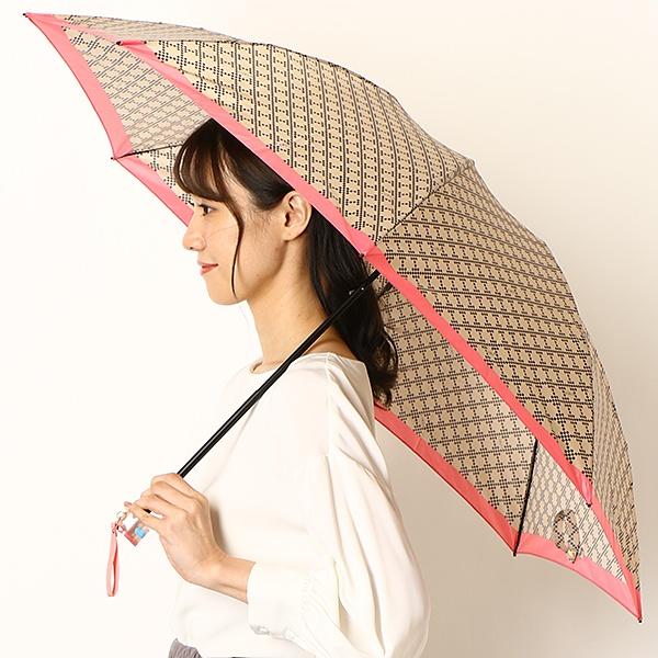 再入荷 新入荷 流行 雨傘 3段 折りたたみ ミニ 8本骨 グラス骨 UV加工 日本製 モノグラム レディース フルラ 高価値 FURLA 雑貨 婦人