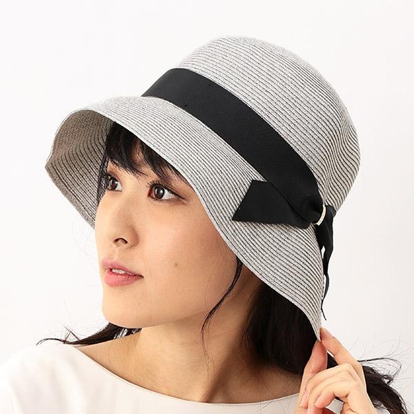 SALE UV遮蔽率92%以上 サイズ調整OK 手洗いでき 手洗いできるペーパーブレードリボン巻きハット ネックウェア 人気ブランド多数対象 フルラ ついに入荷 レディース帽子 FURLA 帽子