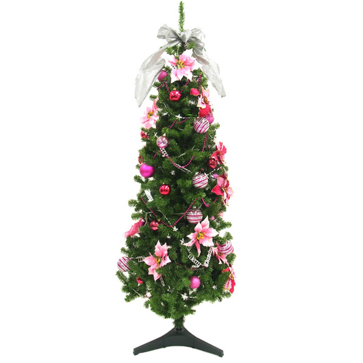 【PCH059 クリスマスツリー(ピンク)】クリスマス装飾 クリスマスツリー デコレーション オーナメント 飾り 冬装飾 送料無料