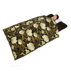 ぽかぽか岩盤浴掛敷毛布(シングルサイズ)