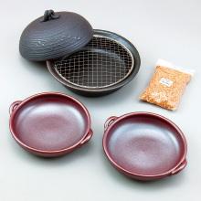 萬古焼 陶板鍋と陶板皿