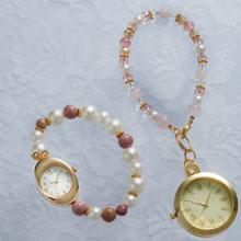 ブレス時計&チャーム時計