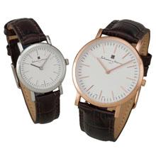 替えベルト付カジュアル腕時計 (紳士&婦人ペア)