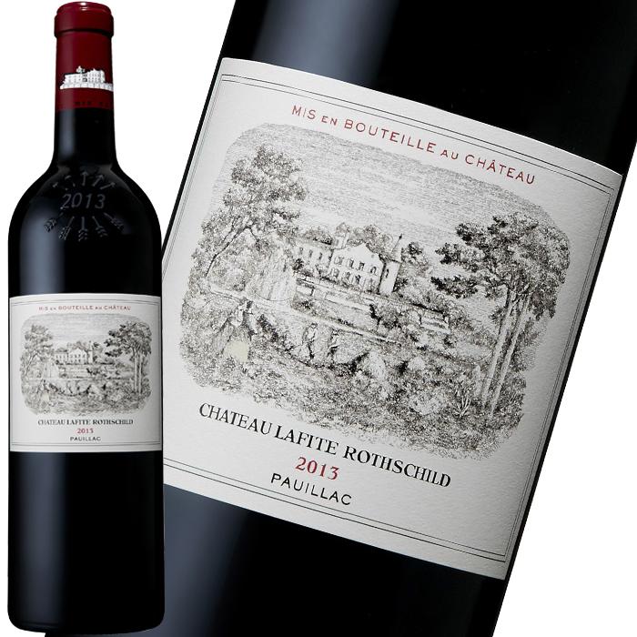 格付け61シャトーの頂点に君臨し続ける、特1級の筆頭シャトー。王座の地位に君臨し続けている、まさに世界最高峰のワインです。 シャトー・ラフィット・ロートシルト 2013 750ml プリムール 赤ワイン フランス ボルドー