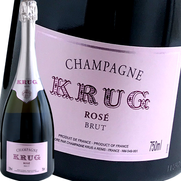 フランス ロゼシャンパン クリュッグ クリュッグ・ロゼ シャンパーニュ ※専用箱は付いておりません。  御年賀 ギフト 贈り物 誕生日 プレゼント 御祝 御礼 内祝 福袋 2019 初売 ハッピーバッグ