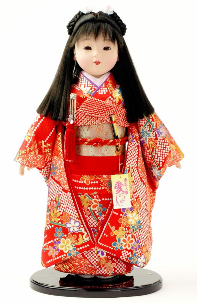 雛人形 特選 公司作 ひな人形 市松人形 童人形 浮世人形 人形のみ 13号 齋藤公司作 ケース別売り No.002 【2015年度新作】 h223-130150-04d-m おしゃれ かわいい 人形屋ホンポ