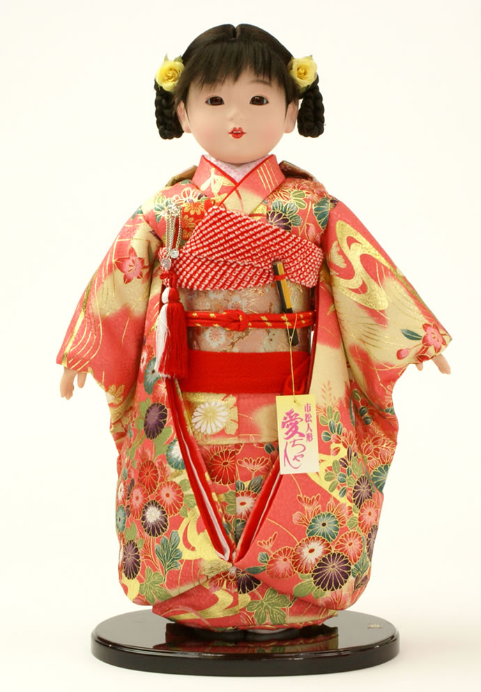 雛人形 特選 公司作 ひな人形 市松人形 童人形 浮世人形 人形のみ 13号 齋藤公司作 ケース別売り No.008 【2015年度新作】 h223-130150-20f-r おしゃれ かわいい 人形屋ホンポ
