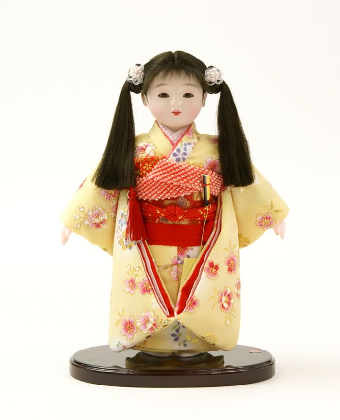 雛人形 特選 公司作 ひな人形 市松人形 童人形 浮世人形 人形のみ 6号 齋藤公司作 ケース別売り No.212 【2015年度新作】 h223-60100-09c-f おしゃれ かわいい 人形屋ホンポ