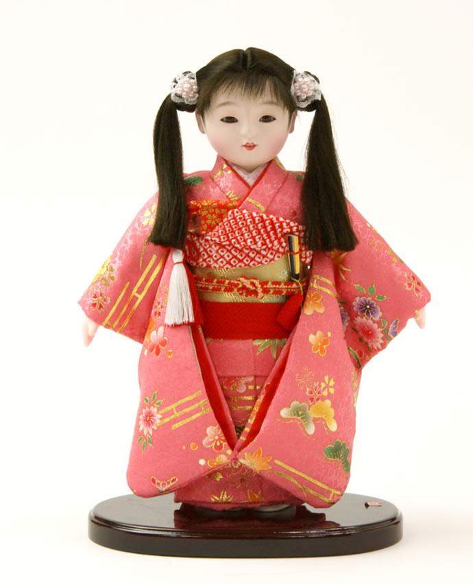 雛人形 特選 公司作 ひな人形 市松人形 童人形 浮世人形 人形のみ 6号 齋藤公司作 ケース別売り No.221 【2015年度新作】 h223-60100-50b-f おしゃれ かわいい 人形屋ホンポ