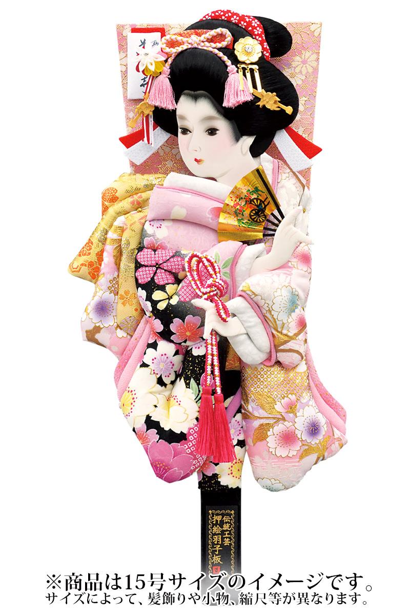 羽子板 単品 紫姫振袖 16号 【2019年度新作】 h311-mm-037-16 人形屋ホンポ