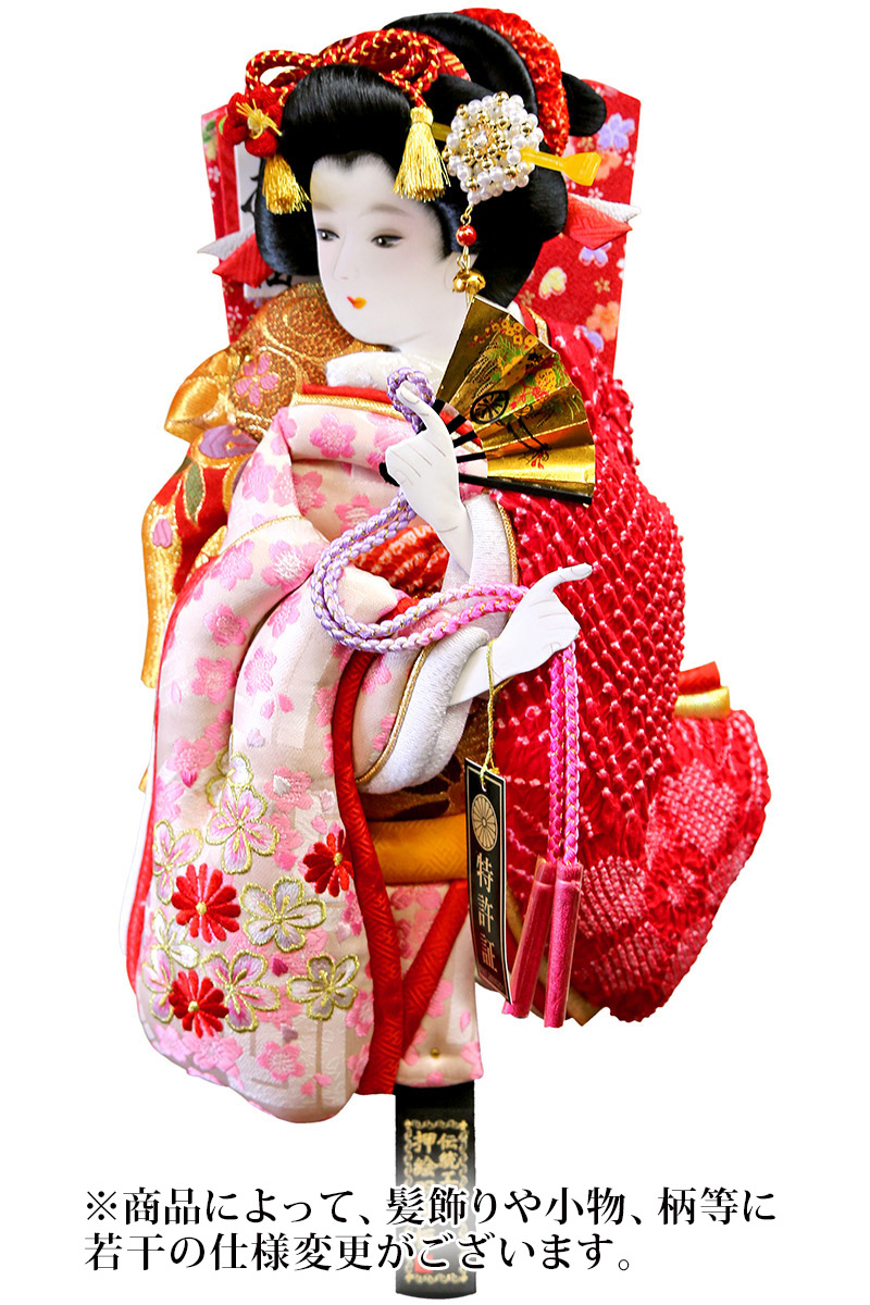 羽子板 単品 さくら詩音 9号 【2019年度新作】 h311-mm-038-09 人形屋ホンポ