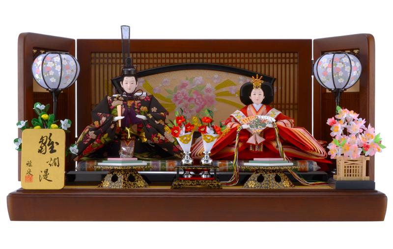 雛人形 特選 ひな人形 雛 親王飾り 雛 平飾り 雛 名匠・逸品飾り 雛人形 特選 雅泉作 雛爛漫 お雛様 おひなさま h253-fz-43ts21 おしゃれ かわいい 人形屋ホンポ