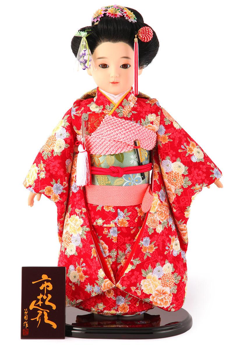 雛人形 ひな人形 雛 市松人形 童人形 人形単品 公司作 13号 【2019年度新作】 kj-130130-13ao