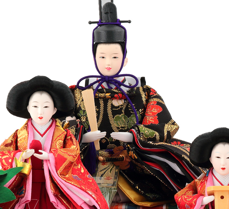 Hina Sayama Qing jade dolls chicks case ornament ornament five cherry this grilled Tung acrylic case h263-sg-7-25