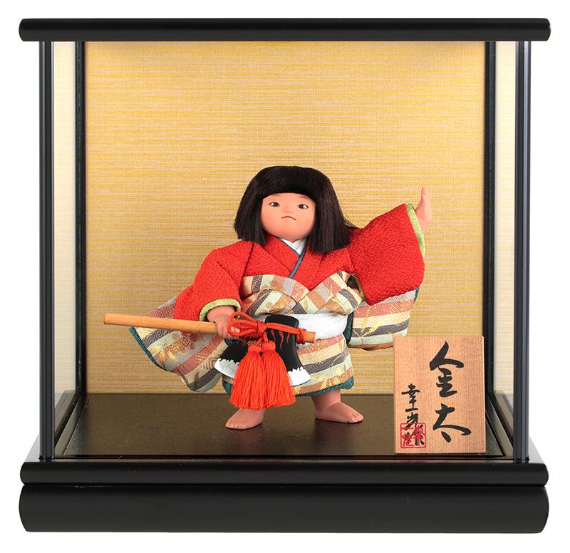 五月人形 幸一光 コンパクト 金太郎 武者人形 ケース飾り 5号 金太 鉞 【2018年度新作】 h305-koi-5631
