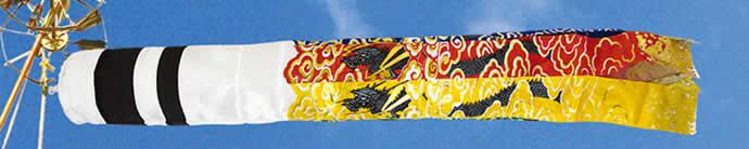こいのぼり 村上鯉 鯉のぼり ベランダ用 小型スタンドセット 1.5m 金彩ロマン 翔龍吹流し 撥水 家紋・名入れ可 【2019年度新作】 mk-147-421