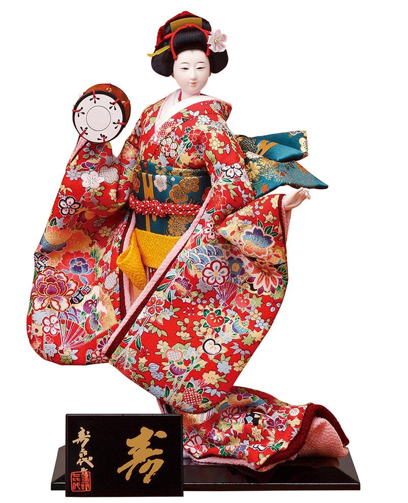 日本人形 尾山人形 人形単品 寿喜代作 極上 寿 正絹 6号 【2018年度新作】 sk-gokujo689