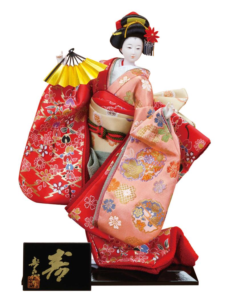 日本人形 尾山人形 人形単品 寿喜代作 極上 寿 友禅 6号 【2018年度新作】 sk-gokujo692 人形屋ホンポ