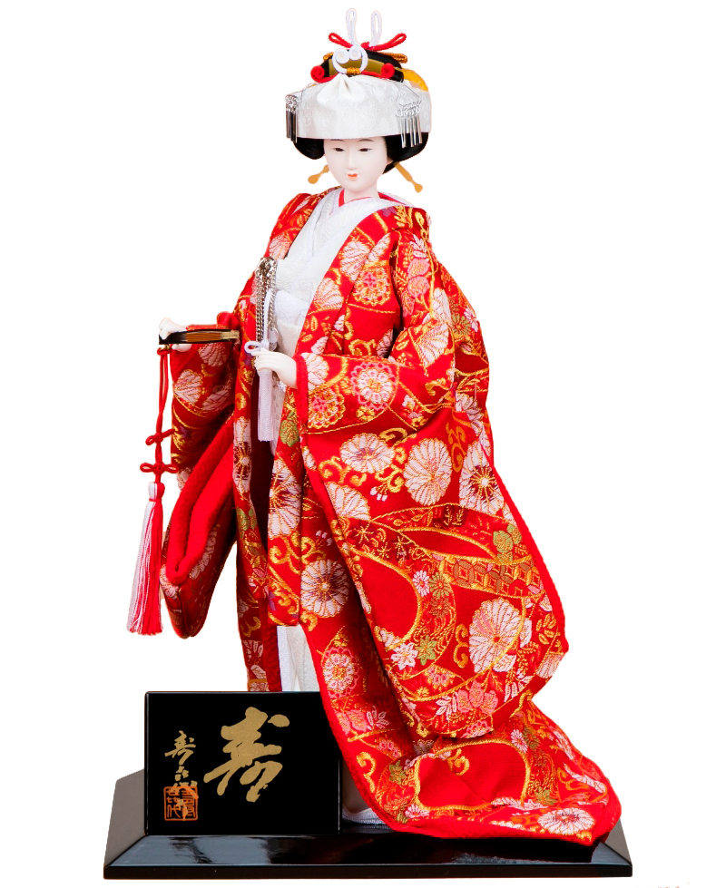日本人形 尾山人形 人形単品 寿喜代作 極上 寿 金らん 6号 【2020年度新作】 sk-gokujo693
