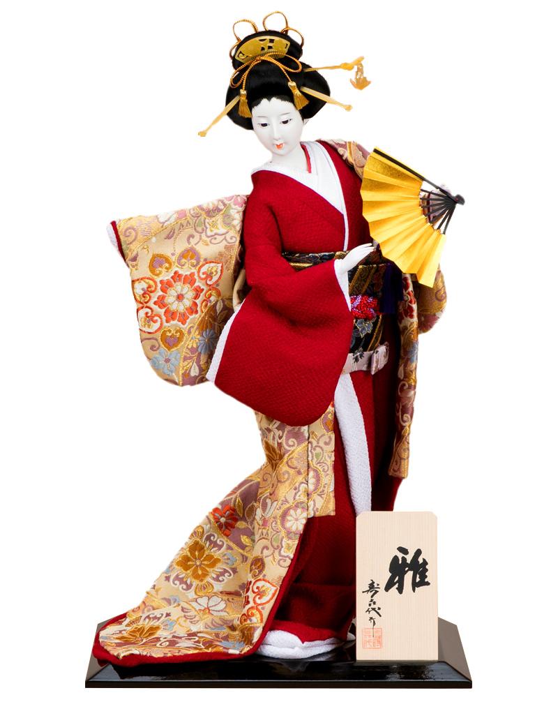 日本人形 尾山人形 人形単品 寿喜代作 雅 金らん 10号 【2020年度新作】 sk-o1933