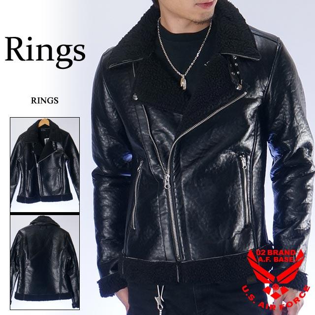 リングス ライダースジャケット RINGS 137105