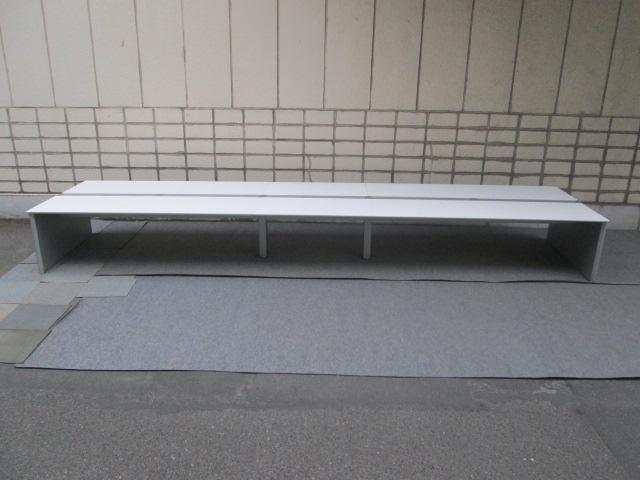 【中古オフィス家具】オカムラ ProUnit Freeway W6000×D1400 両面タイプ【中古品】オフィスデスク