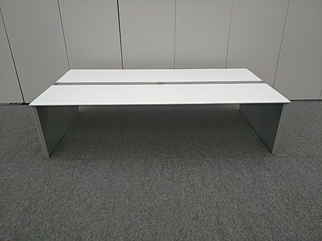オカムラ ProUnit Freeway【中古品】W2400×D1400 両面タイプ オフィスデスク