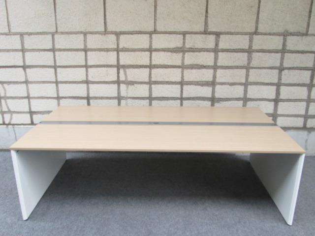 イトーキ インターリンク デスクシステム W2404×D1400 スタンダード・両面タイプ【中古品】